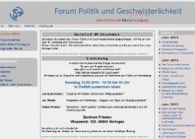 Forum Politik und Geschwisterlichkeit
