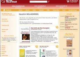 Webseite Neue Stadt-Verlag